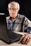 интеллектуальный старший человека Стоковые Фото