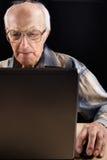 интеллектуальный старший человека Стоковое фото RF