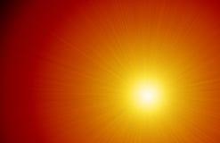Интенсивная предпосылка солнечности светового луча Стоковое Изображение