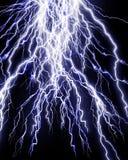 Интенсивный шторм молнии иллюстрация вектора