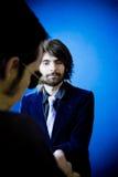 интервью дела Стоковые Фотографии RF