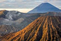 3 интереса национального парка Bromo Tengger Semeru Стоковая Фотография RF