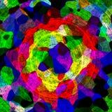 Интересная неровная красочная текстура предпосылки с красным зеленым цветом иллюстрация штока