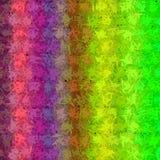 Интересная неровная красочная текстура с зеленым розовым фиолетовым цветом Стоковая Фотография