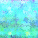 Интересная неровная красочная текстура с царапинами и шумом голубыми Стоковые Изображения RF