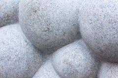 Интересная работа камня в форме облака или большое количество шариков Стоковое Фото