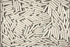 Интересная текстура макарон макаронных изделий от твердого sepia света разнообразия пшеницы Стоковое Изображение RF