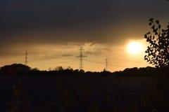 Интересное небо Стоковое фото RF