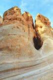 Интересные горные породы на утесах шатра Стоковое Изображение