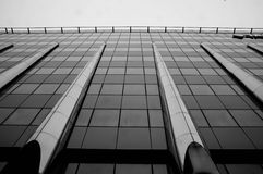 Интересные детали современного здания Стоковые Фотографии RF