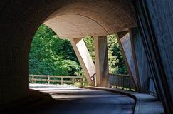 Интересы долины Ebniter естественные, Форарльберг, Австрия стоковые изображения