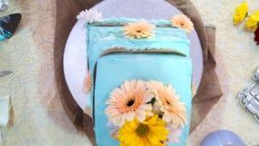 Интерес свадебного пирога стоковое изображение rf