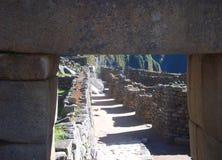 Интерес Южная Америка мира руин Inca Machu Picchu Перу Стоковые Фото