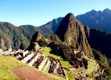 Интерес Южная Америка мира руин Inca Machu Picchu Перу Стоковая Фотография