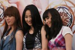 интерес singapore 2 девушок Стоковое Изображение RF