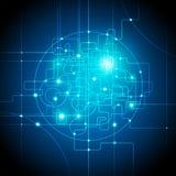 интернет абстрактных соединений предпосылки гловальный Стоковые Фото