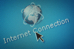 интернет близкой связи вверх стоковые фото