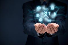 Интернет вещей IoT Стоковое Изображение RF
