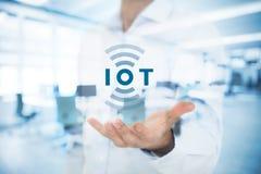 Интернет вещей IoT стоковое фото rf