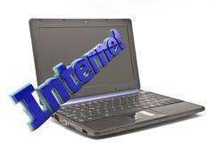 Интернет в 3d Стоковое фото RF