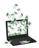 интернет заработков Стоковая Фотография