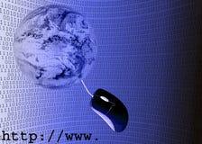 интернет иллюстрации 3d Стоковые Фотографии RF