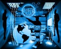 Интернет и гуманность Стоковые Фото