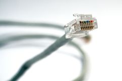 интернет кабеля Стоковое Фото