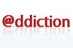 интернет наркомании Стоковая Фотография RF