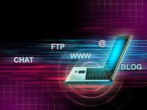 интернет-обслуживания Стоковая Фотография RF
