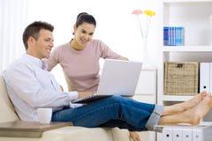 интернет пар просматривать стоковое фото