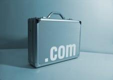интернет портфеля стоковое изображение rf