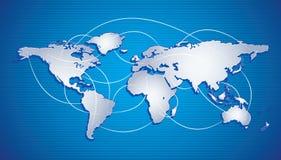 интернет принципиальной схемы предпосылки Стоковая Фотография RF