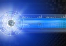 интернет принципиальной схемы Стоковое фото RF