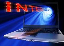 интернет принципиальной схемы Стоковые Изображения RF