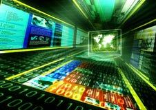 интернет принципиальной схемы Стоковая Фотография RF