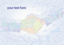 интернет принципиальной схемы дела гловальный Стоковая Фотография
