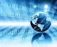 интернет самой лучшей принципиальной схемы дела гловальный глобус Стоковые Изображения RF