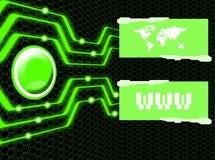 интернет соединения Стоковые Фотографии RF