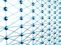 интернет соединений принципиальной схемы 3d Стоковая Фотография