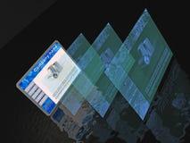 Интернет-страницы Стоковые Фотографии RF