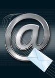 интернет электронной почты принципиальной схемы Стоковая Фотография RF