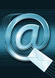 интернет электронной почты принципиальной схемы Стоковая Фотография