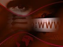 интернет Стоковые Фотографии RF