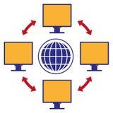 Интернет Стоковое фото RF