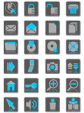 интернет icons01 Стоковые Фото