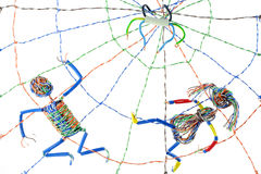 интернет www принципиальной схемы стоковые фото