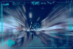 Интерфейс головного дисплея Стоковая Фотография RF