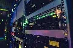 Интерфейс центров обработки информации стоковое фото