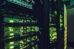 Интерфейс центров обработки информации стоковое фото rf